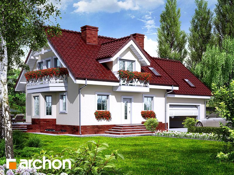 Проект будинку ARCHON+ Будинок в рододендронах 6 (Г2П) вер.2 Вид 1