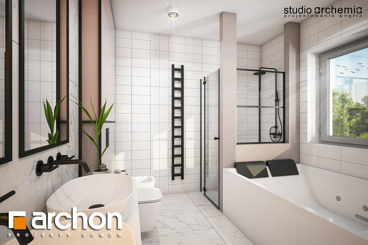 Проект дома ARCHON+ Вилла Констанция визуализация ванной (визуализация 3 вид 1)