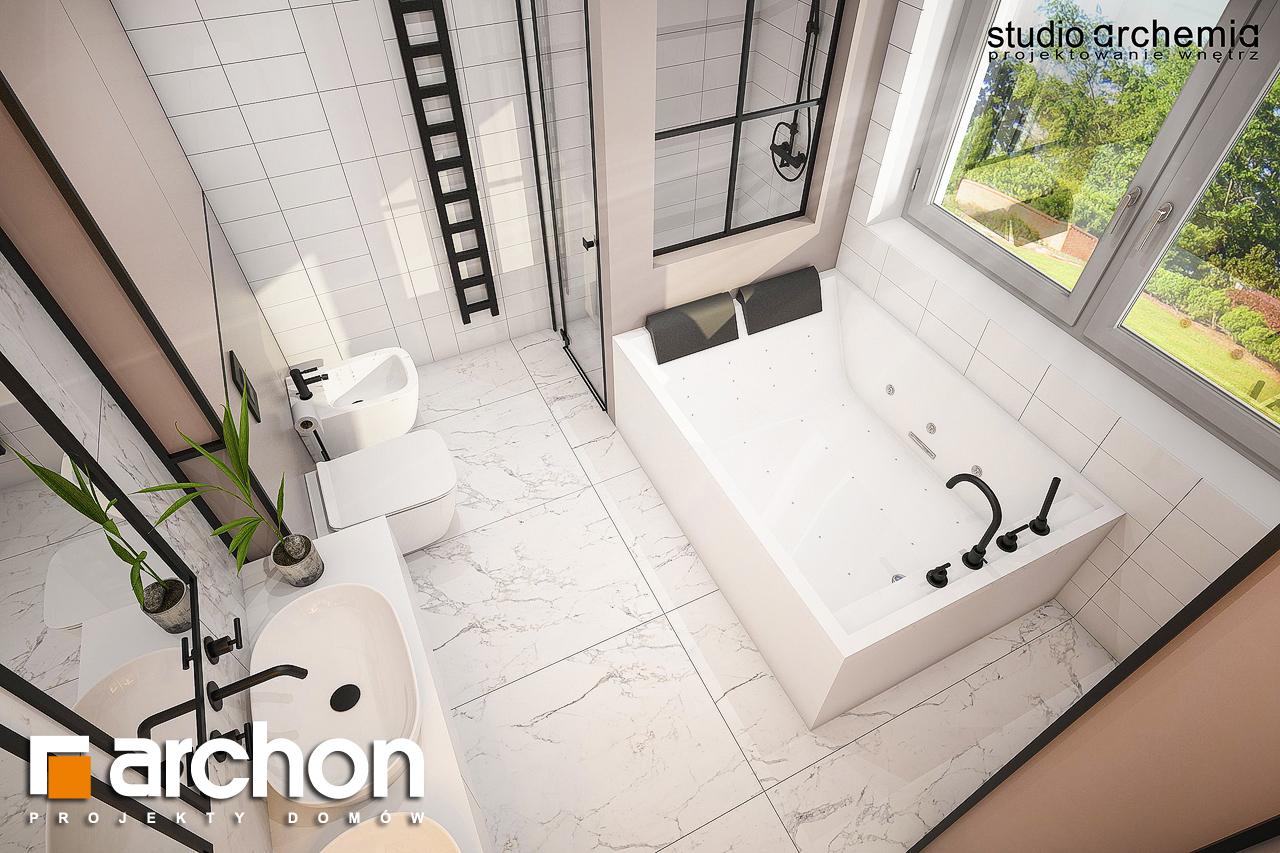 Проект будинку ARCHON+ Вілла Констанція візуалізація ванни (візуалізація 3 від 4)