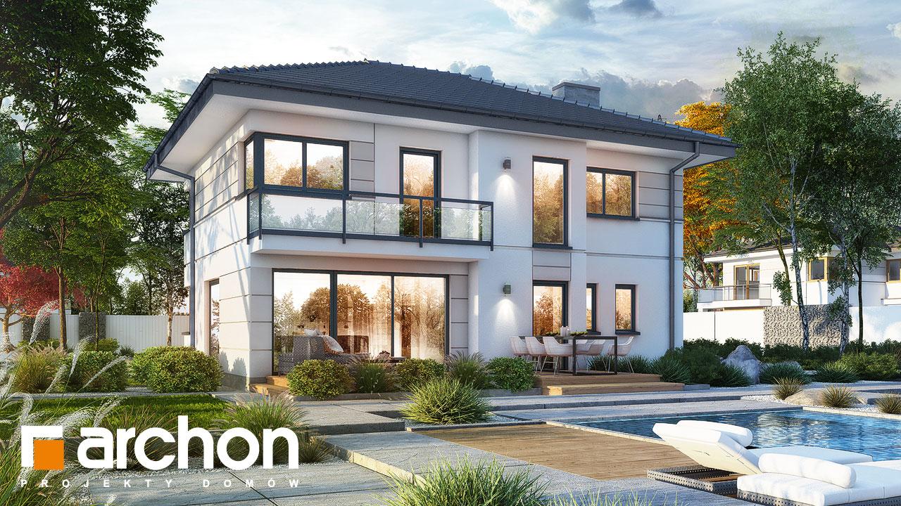 Проект будинку ARCHON+ Вілла Констанція Вид 2