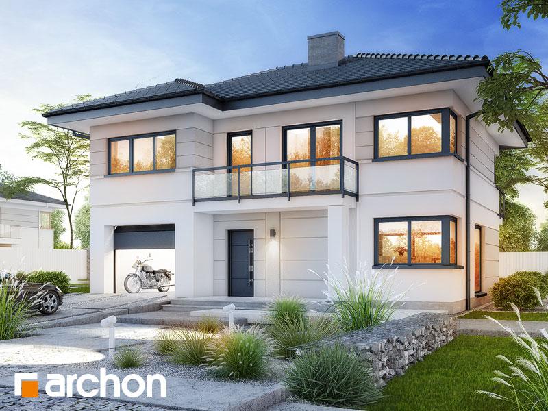 Проект дома ARCHON+ Вилла Констанция Вид 1