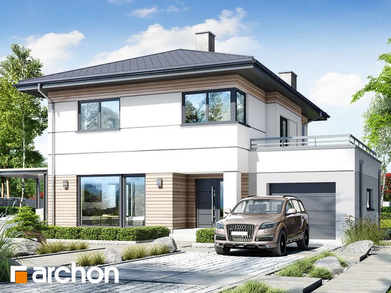 Проект будинку ARCHON+ Вілла Адріана 2 Вид 1