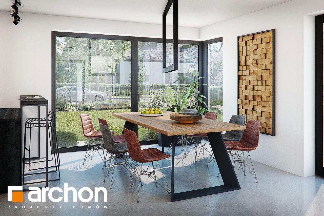 Проект дома ARCHON+ Дом в стоколосе (Г2) дневная зона (визуализация 1 вид 6)