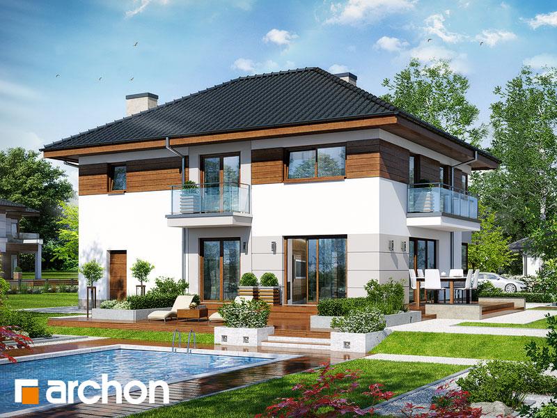 Проект дома ARCHON+ Вилла Эмма Вид 1