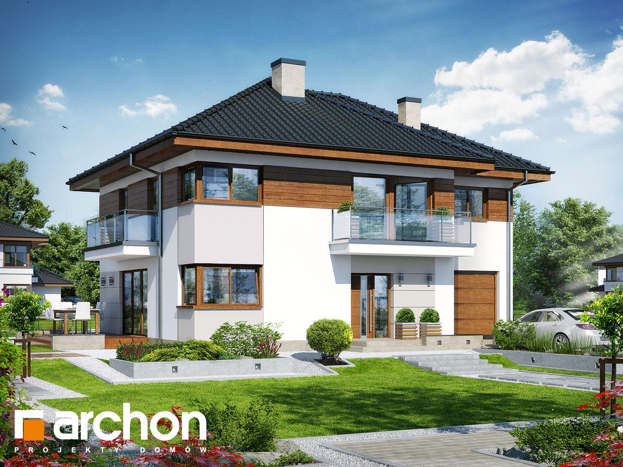 Проект будинку ARCHON+ Вілла Емма Вид 2