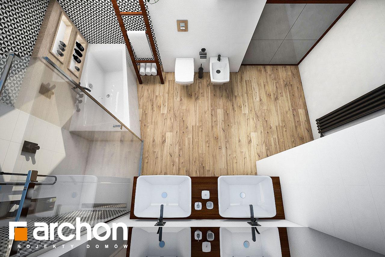Проект будинку ARCHON+ Будинок в аурорах (Г2) візуалізація ванни (візуалізація 3 від 4)
