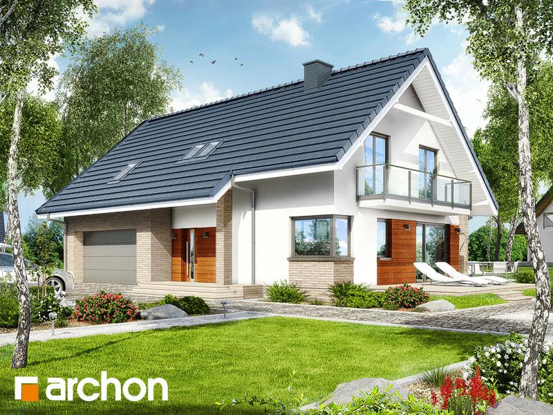 Проект будинку ARCHON+ Будинок в аурорах (Г2) Вид 1