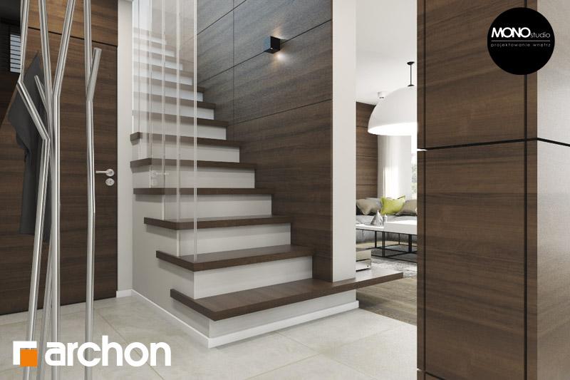 Проект будинку ARCHON+ Будинок в аурорах (Г2) денна зона (візуалізація 3 від 1)