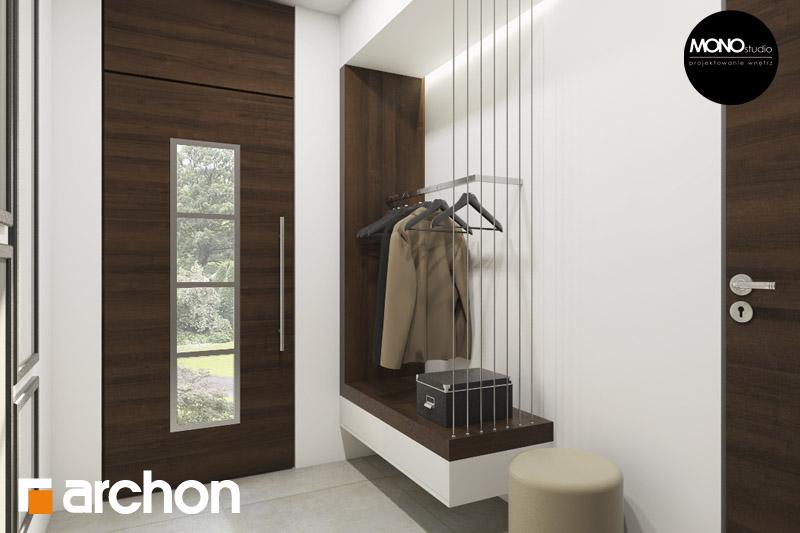 Проект будинку ARCHON+ Будинок в аурорах (Г2) денна зона (візуалізація 3 від 2)