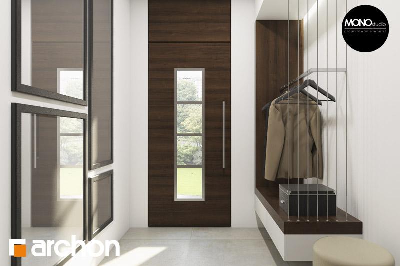 Проект будинку ARCHON+ Будинок в аурорах (Г2) денна зона (візуалізація 3 від 3)