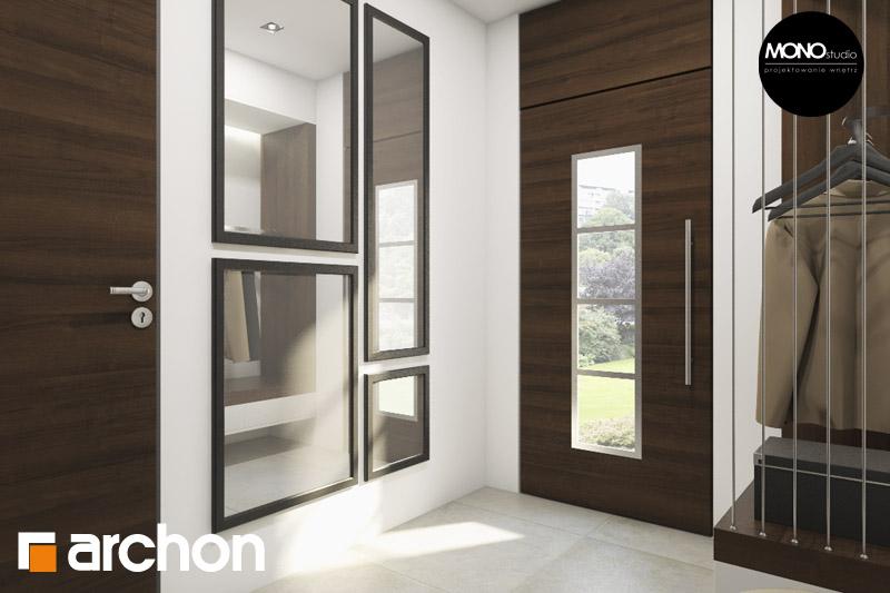 Проект будинку ARCHON+ Будинок в аурорах (Г2) денна зона (візуалізація 3 від 4)