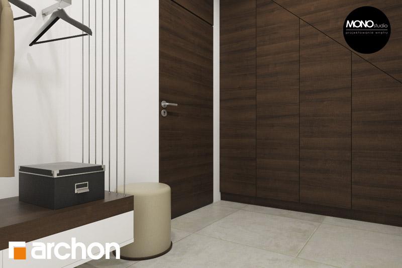 Проект будинку ARCHON+ Будинок в аурорах (Г2) денна зона (візуалізація 3 від 5)