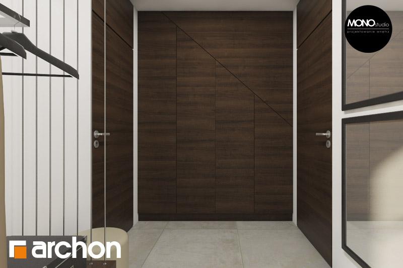 Проект будинку ARCHON+ Будинок в аурорах (Г2) денна зона (візуалізація 3 від 6)