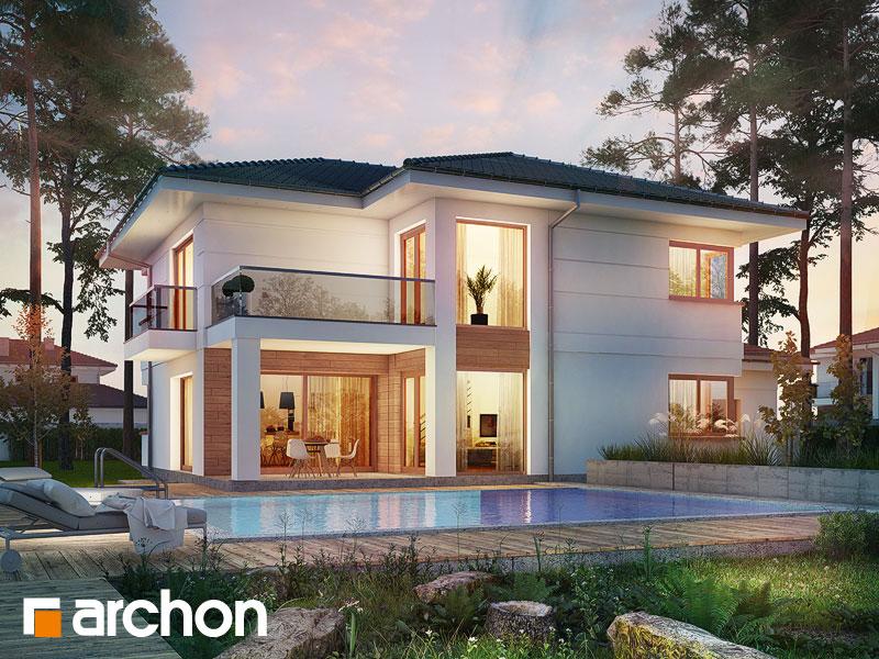 Проект будинку ARCHON+ Вілла Олівія 3 (Г2П) Вид 1