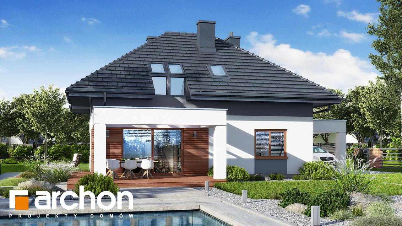 Проект будинку ARCHON+ Будинок в малинівці 12 Вид 2