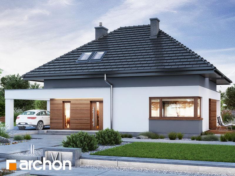 Проект будинку ARCHON+ Будинок в малинівці 12 Вид 1