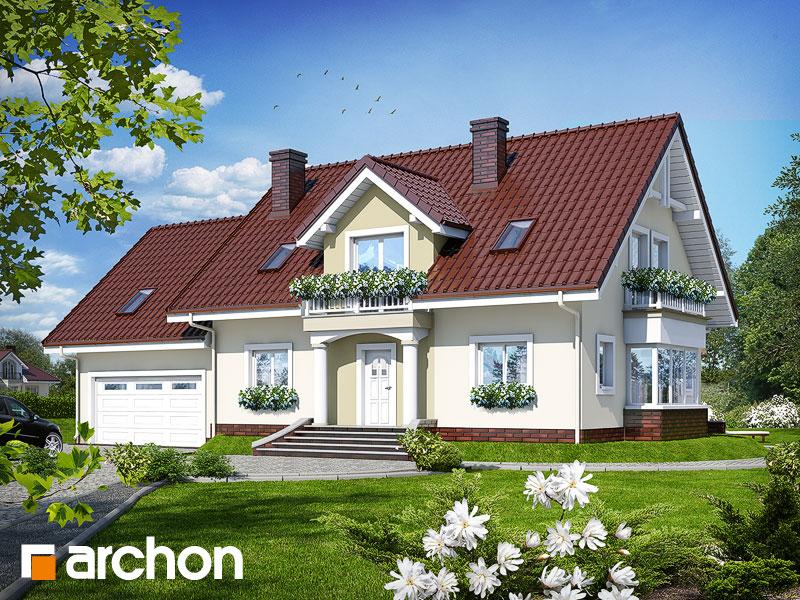Проект будинку ARCHON+  Будинок в каллах 2 (Г2) вер.2 Вид 1