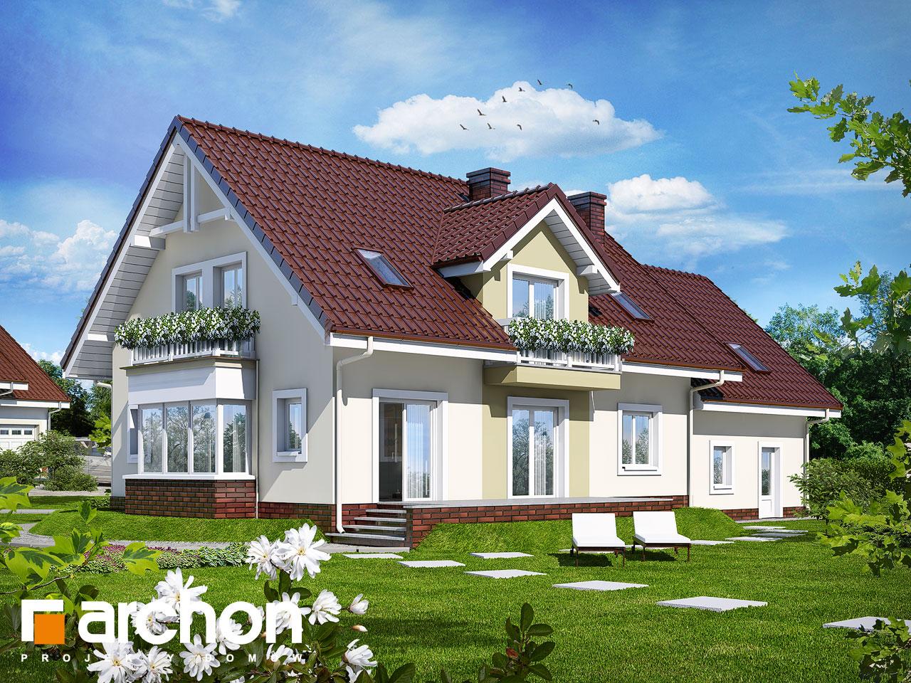 Проект будинку ARCHON+  Будинок в каллах 2 (Г2) Вид 2