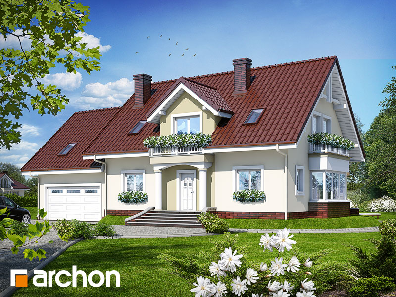 Проект будинку ARCHON+  Будинок в каллах 2 (Г2) Вид 1