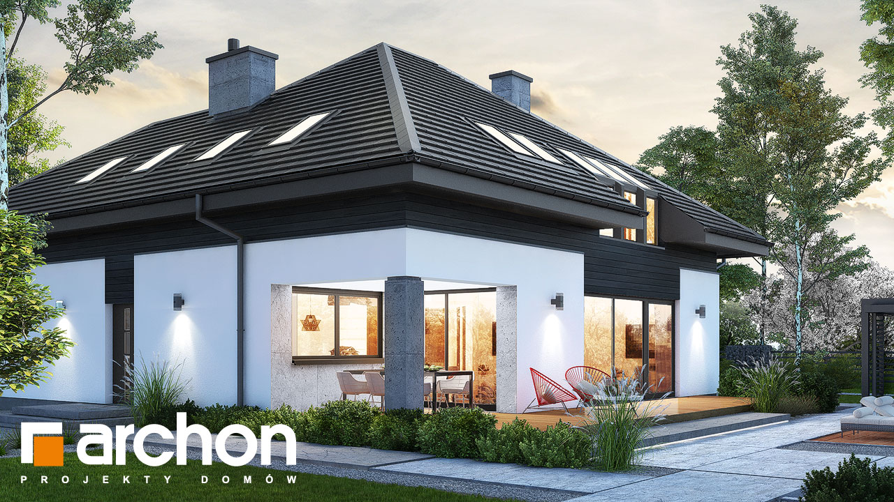 Проект будинку ARCHON+ Будинок в аметистах (Г2) додаткова візуалізація