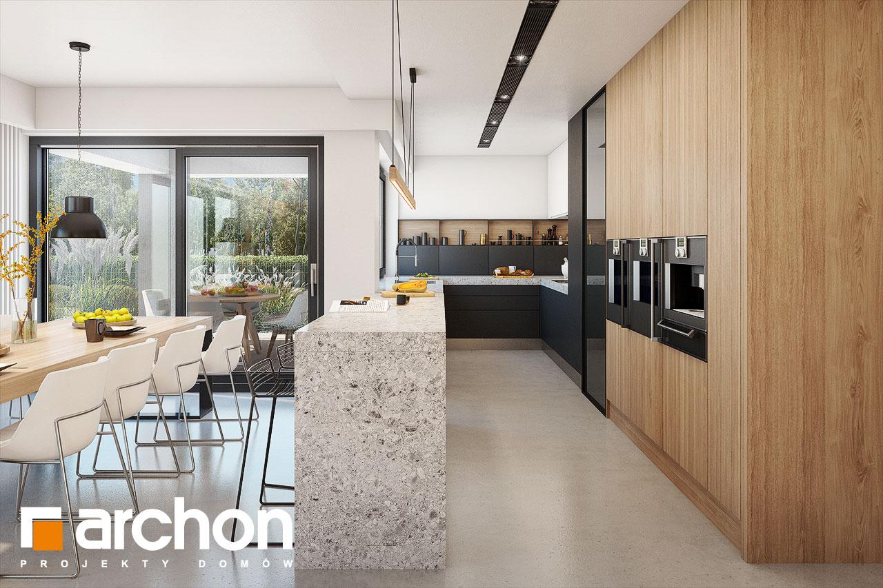 Проект будинку ARCHON+ Будинок в аметистах (Г2) візуалізація кухні 1 від 1