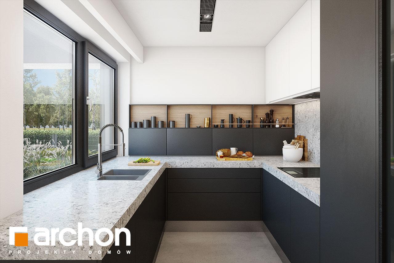 Проект будинку ARCHON+ Будинок в аметистах (Г2) візуалізація кухні 1 від 3