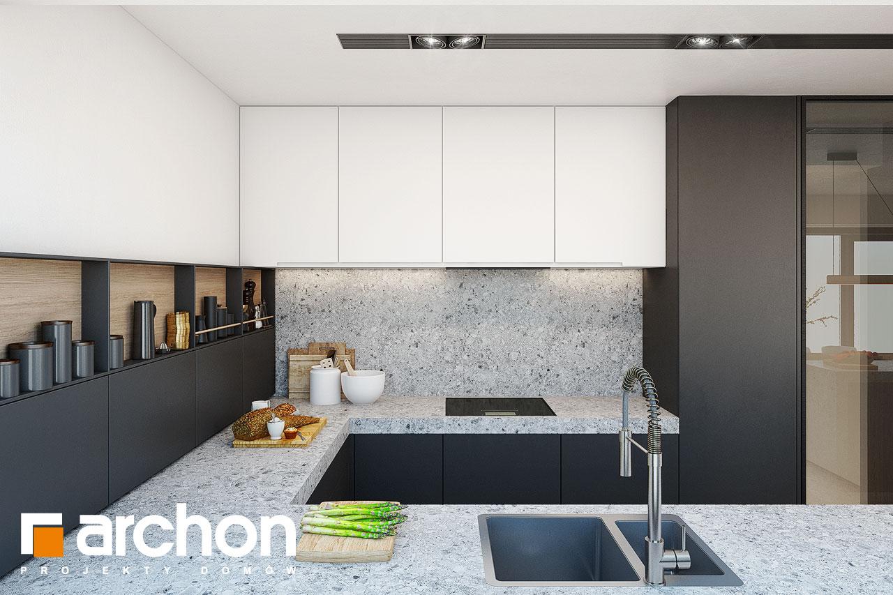 Проект будинку ARCHON+ Будинок в аметистах (Г2) візуалізація кухні 1 від 4