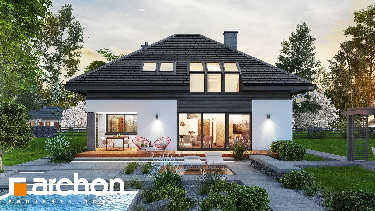 Проект будинку ARCHON+ Будинок в аметистах (Г2) Вид 2