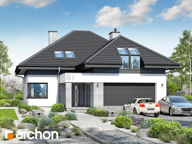 Проект будинку ARCHON+ Будинок в аметистах (Г2) Вид 1