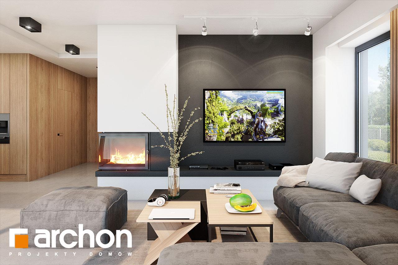 Проект будинку ARCHON+ Будинок в аметистах (Г2) денна зона (візуалізація 1 від 1)
