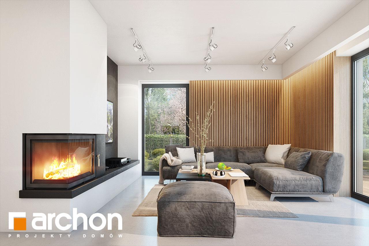 Проект будинку ARCHON+ Будинок в аметистах (Г2) денна зона (візуалізація 1 від 3)