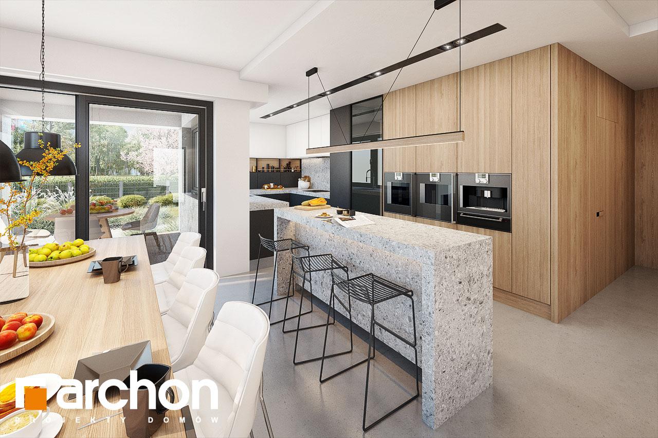 Проект будинку ARCHON+ Будинок в аметистах (Г2) денна зона (візуалізація 1 від 5)