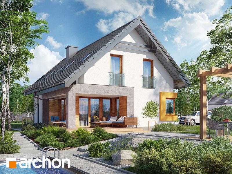 Проект дома ARCHON+ Дом в лосанах Вид 1
