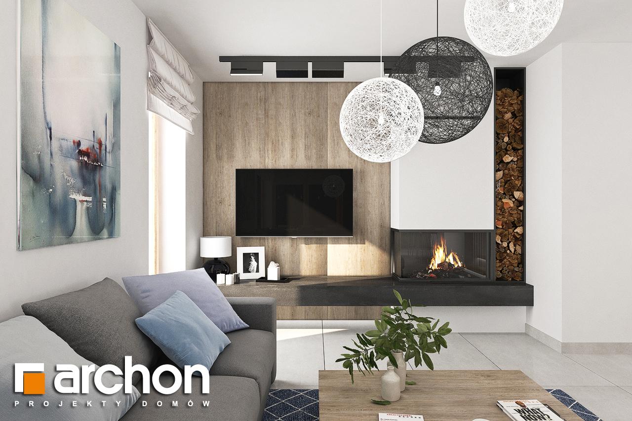 Проект будинку ARCHON+ Будинок в лосанах  денна зона (візуалізація 1 від 1)