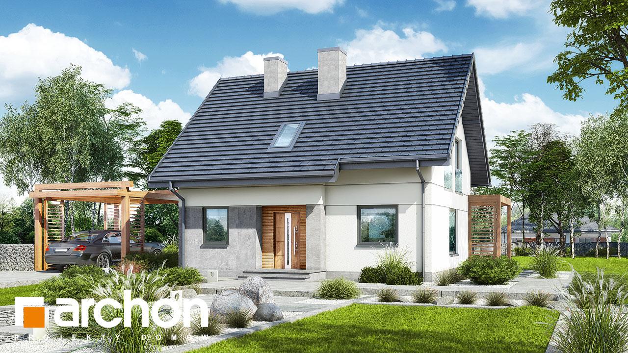 Проект будинку ARCHON+ Будинок в хлорофітумі 8 додаткова візуалізація