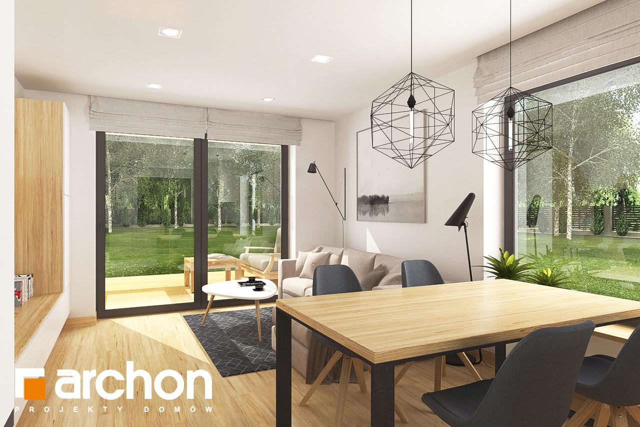 Проект будинку ARCHON+ Будинок в хлорофітумі 8 денна зона (візуалізація 1 від 1)
