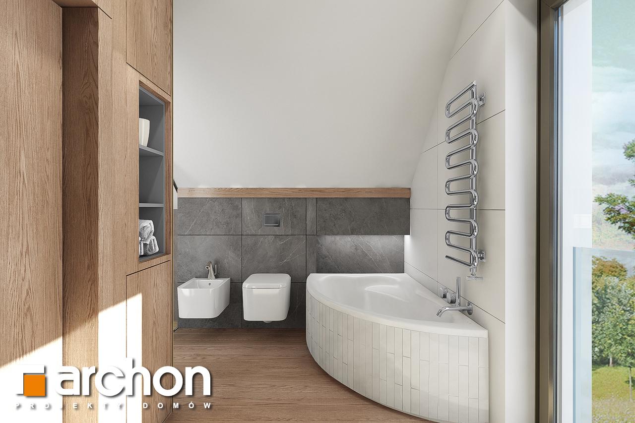 Проект дома ARCHON+ Дом в изопируме 8 визуализация ванной (визуализация 3 вид 2)
