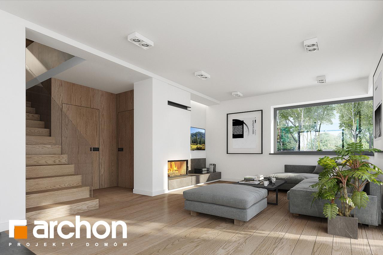 Проект дома ARCHON+ Дом в изопируме 8 дневная зона (визуализация 1 вид 5)