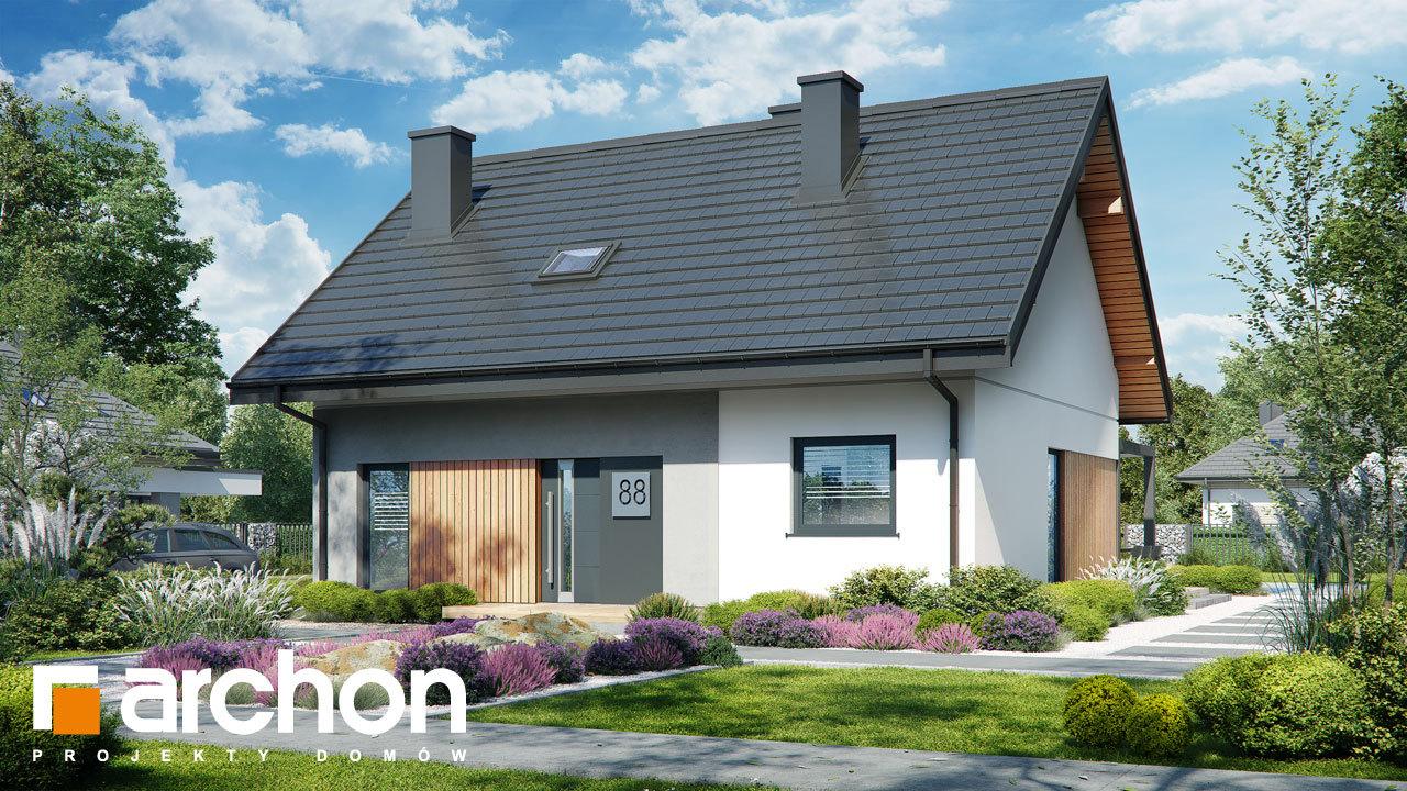 Проект будинку ARCHON+ Будинок в смородині 2