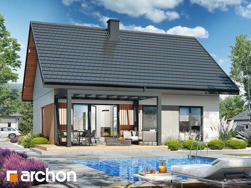 Проект будинку ARCHON+ Будинок в смородині 2 Вид 1