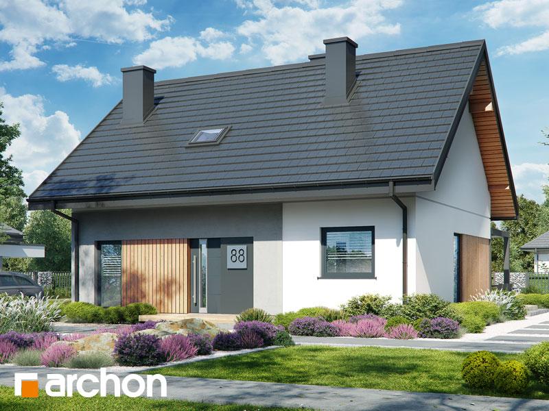 Проект будинку ARCHON+ Будинок в смородині 2 Вид 2