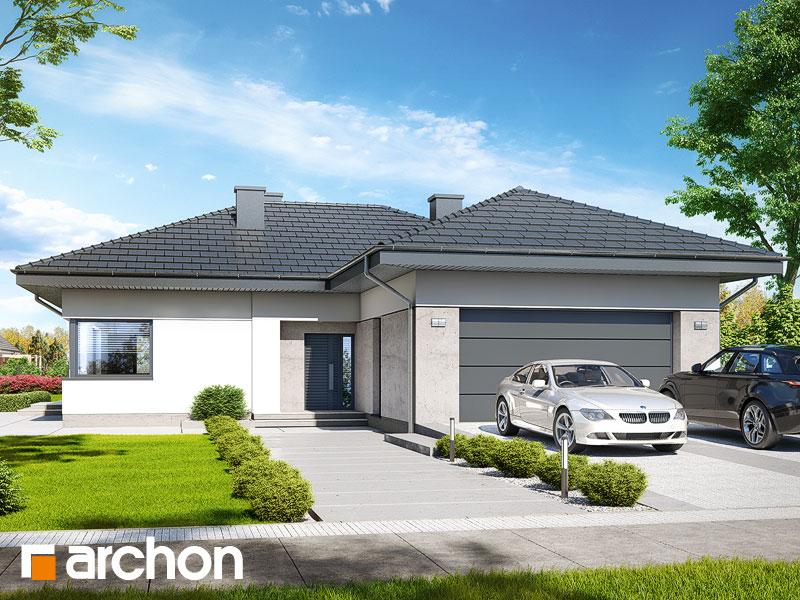Проект будинку ARCHON+ Будинок в підсніжниках 6 (Г2) Вид 1