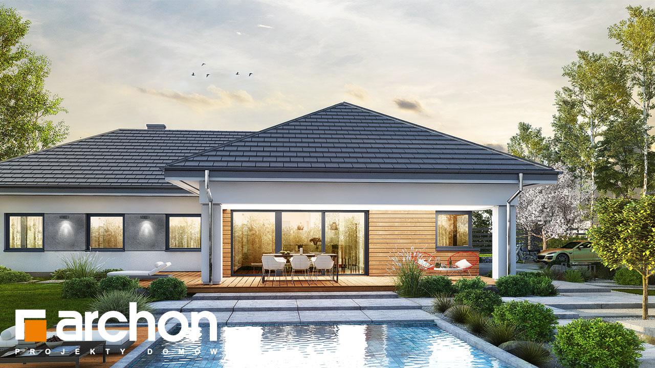 Проект будинку ARCHON+ Будинок в соняшниках 2 (Г2) додаткова візуалізація