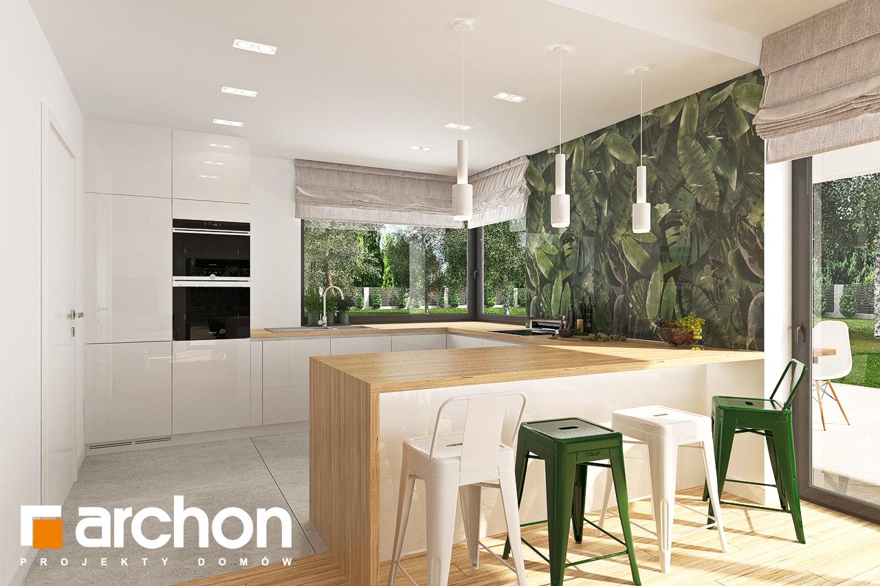 Проект будинку ARCHON+ Будинок в соняшниках 2 (Г2) візуалізація кухні 1 від 1