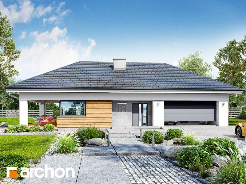 Проект будинку ARCHON+ Будинок в соняшниках 2 (Г2) Вид 1