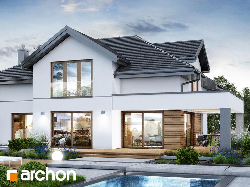 Проект будинку ARCHON+ Вілла Міранда 18 (Г2Е) Вид 1