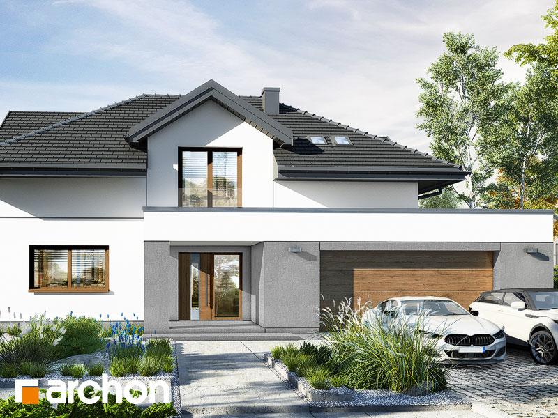 Проект будинку ARCHON+ Вілла Міранда 18 (Г2Е) Вид 2