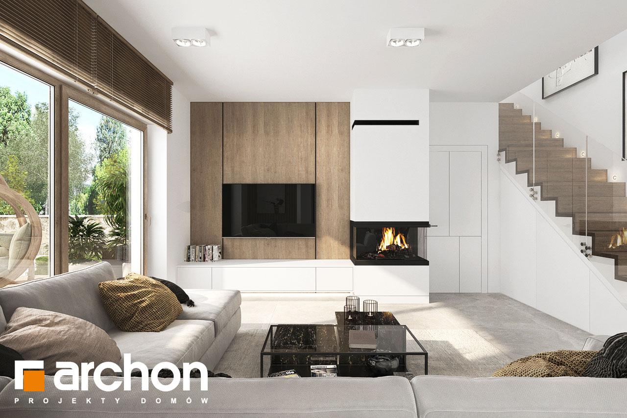Проект будинку ARCHON+ Вілла Міранда 18 (Г2Е) денна зона (візуалізація 1 від 1)