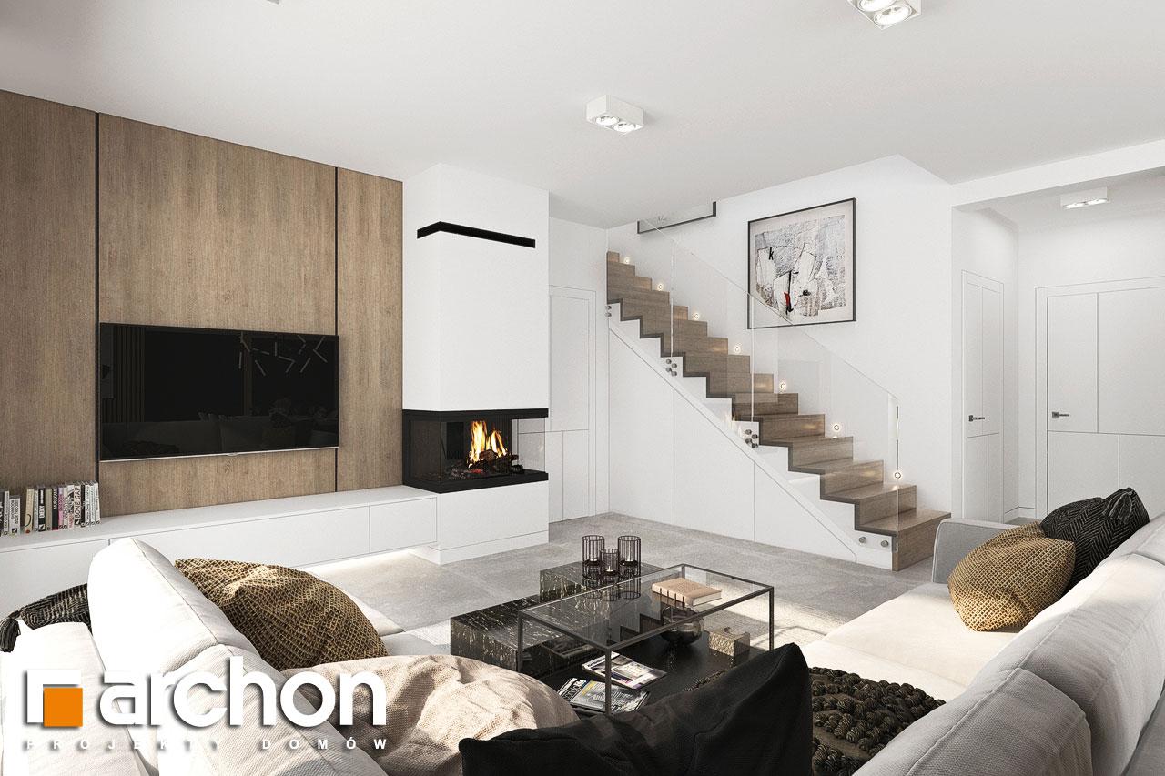 Проект будинку ARCHON+ Вілла Міранда 18 (Г2Е) денна зона (візуалізація 1 від 5)