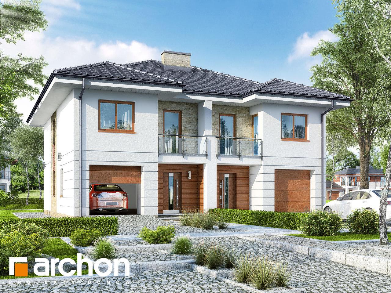 Проект дома ARCHON+ Вилла Амелия (Р2) вер.2